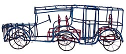 Wire limousine by Clifton Eugene Dale