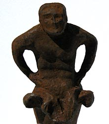 Cast iron figure