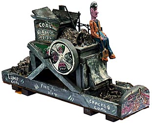Coal cracker model by Jim Popso