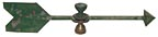 Doorknob weathervane