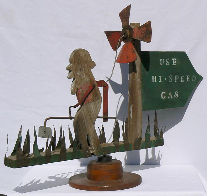Wind Items At Artisans Folk Art, Antiques, And Outsider
