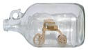 Tricycle in bottle whimsey