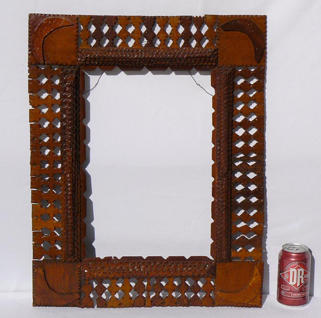 'With a soda can for scale' from the web at 'http://www.folkartisans.com/pages/../images10/twhr_scale_big.jpg'