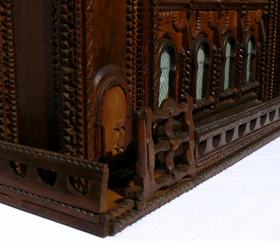 'Closer view of gate, doorway' from the web at 'http://www.folkartisans.com/pages/../images11/trwp_cl5.jpg'